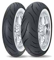 Avon Av71/av72 Cobra Front & Rear Tire Set Www Tubeless 100/90h-19 & Mt90hb-16 on sale