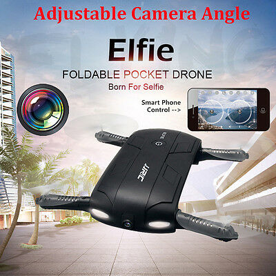 JRC H37 Altitude Hold HD Camera WIFI FPV RC Quadcopter Drone Selfie Foldable