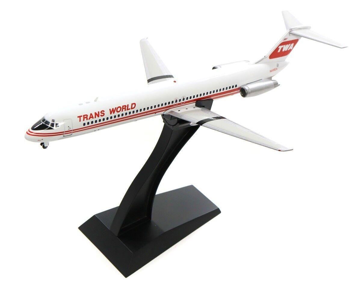 Inflight 200 IFDC 950917 1 200 TWA DC-9-51 N416EA avec support