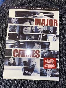 Major-Crimes-TV-Series-Complete-6th-Sixth-amp-Final-Season-Six-NEW-3-DISC-DVD-SET