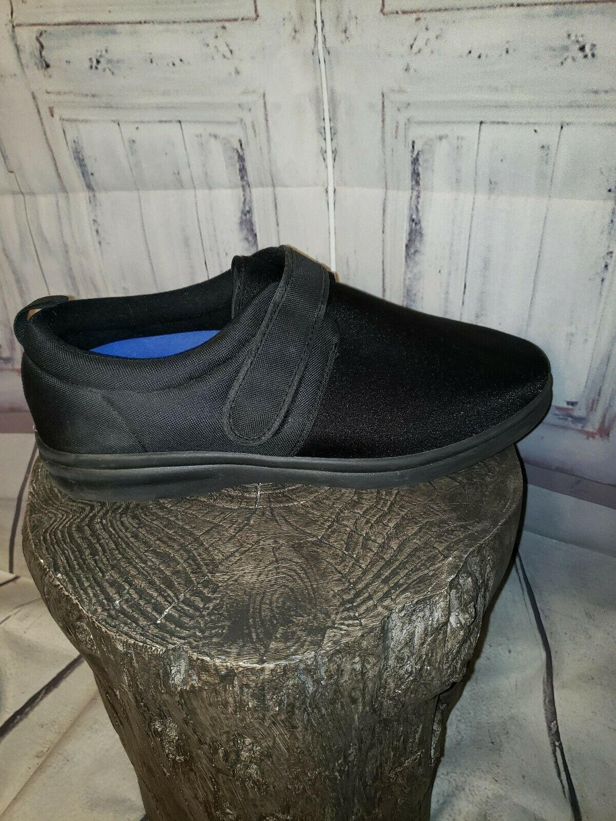Dr Comfort Men ShoeS Carter 12XW Black Casual Vel… - image 6