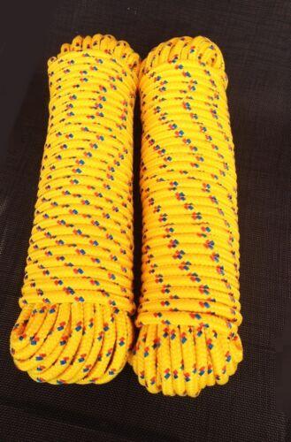 Gelber Festmacher 4-16 mm,Polypropylen Seil,Spannseil,Rope,Expanderseil,Tauwerk