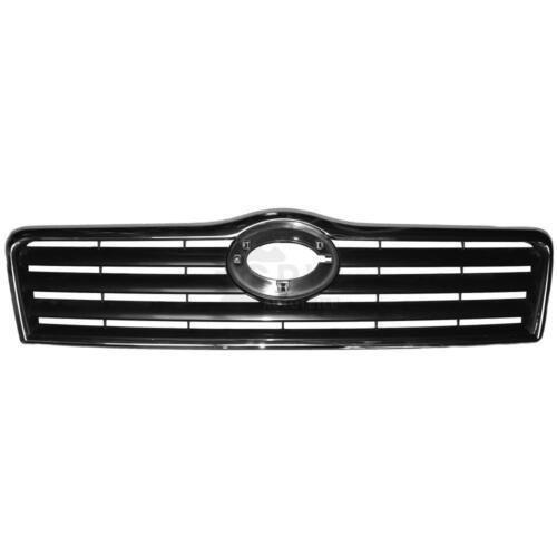 Kühlergrill Frontgrill Grill schwarz//chrom für Toyota Avensis T25 Bj 03-06