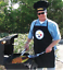 Pittsburgh-Steelers-NFL-Barbecue-Tailgating-Apron-and-Chef-039-s-Hat thumbnail 2