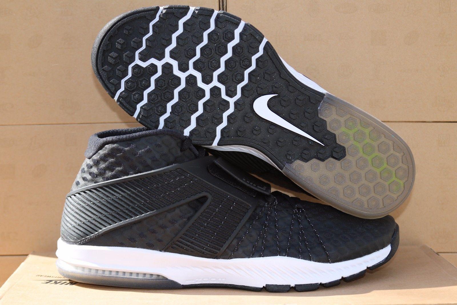 140 Para Nike Zoom tren Toranada Para 140 Hombres Zapatos De Entrenamiento Negro/Blanco 6b55b9