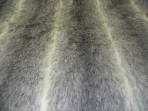 LUXURY-Animal-Faux-Fur-Fabric-Material-GREY-OMBRE