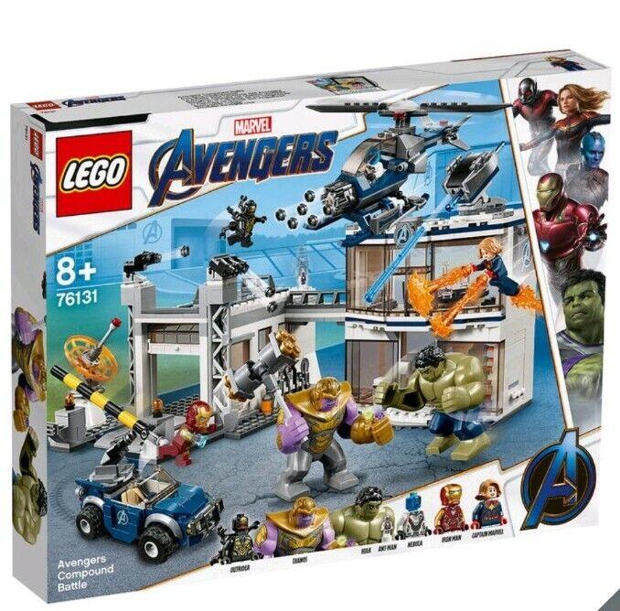 New LEGO Marvel Avengers Compound Battle - Model 76131 great Christmas gift