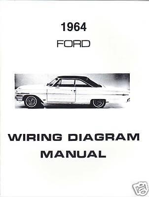 1964 FORD WIRING DIAGRAM MANUAL | eBay