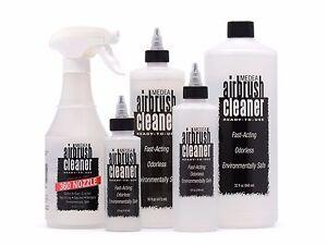 Iwata Medea Airbrush Cleaning Solution Environmentall<wbr/>y Safe & Odorless, RTU