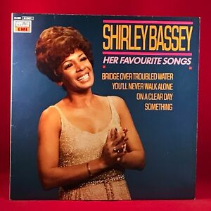 SHIRLEY-BASSEY-Her-Favourite-Songs-1985-vinyl-LP-EXCELLENT-CONDITION-best-of
