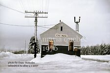 Canadian National Rwy    Maria station Quebec 1976   Gaspe Peninsula x