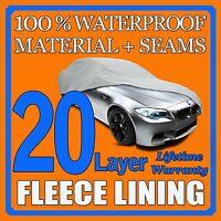 20 Layer Car Cover Waterproof Layers Outdoor Indoor Fleece Lining Sel17