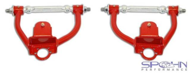 Tubular Front Upper Control A-Arms with Poly Bushings | 1978-1987 GM G-Body