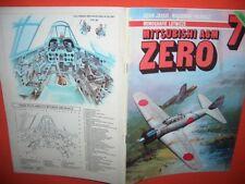 Monografie Aircraft Monograph 7, Mitsubishi A6M ZERO  von  AJ Press