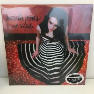 Norah Jones Not Too Late Limited Edition Classic Records Colored Vinyl Blue Note