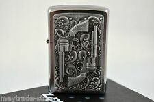ZIPPO lighter Silver Revolver special Edition - very rare collectible