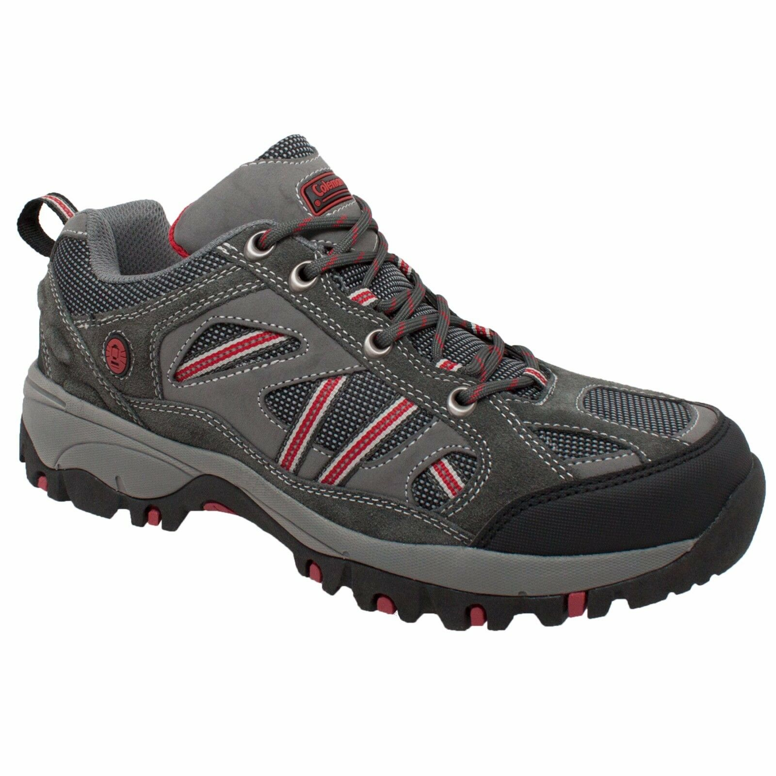 sale retailer e7c1e 91db0 Utah Grey, Coleman Men Hiker Suede Leather Upper Soft Toe shoes