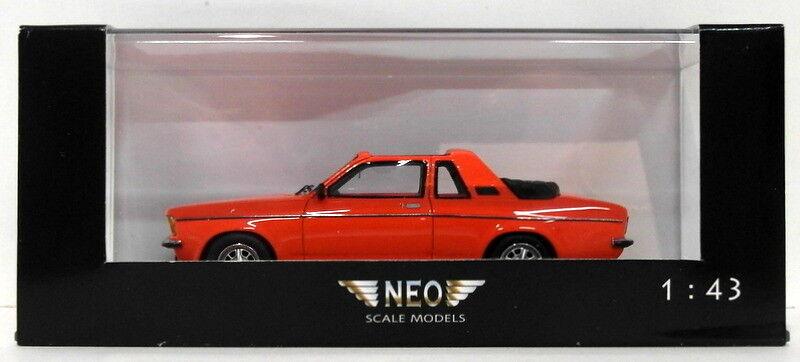 alta calidad y envío rápido NEO 1 43 43 43 Scale Resin Model NEO43075 - Opel Kadett Aero - rojo  presentando toda la última moda de la calle