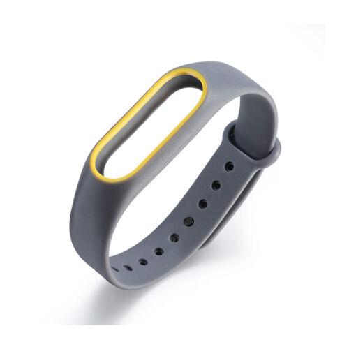 Wrist Strap Silicone Smart Bracelet Belt Wristband For Xiaomi Mi Band 2 Colorful