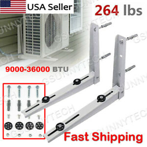 Wall Mounting Bracket for Mini Split Air Conditioner 9000 - 36000 Btu Condenser
