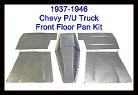 1937-1946 Chevrolet Chevy Pickup Truck 8pc. Floor Pans Toe Boards & Trans Cover