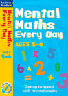 Mental Maths Every Day 5-6 by Andrew Brodie (Paperback, 2007)