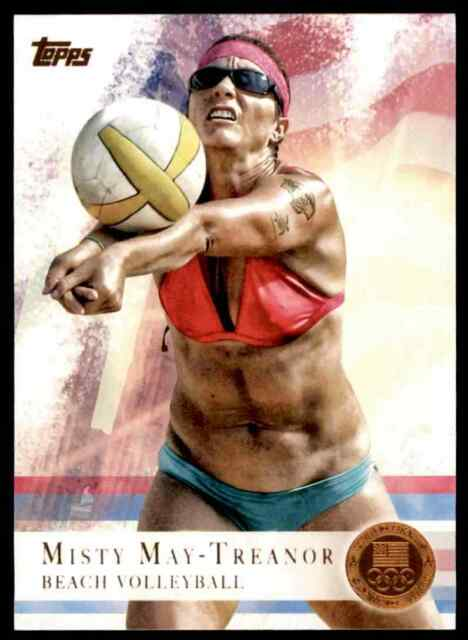 2012 TOPPS OLYMPICS COPPER MISTY MAY-TREANOR BEACH VOLLEYBALL #40 PARALLEL