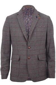 1977 Squire £ Jacket Blazer Luke 165 Rrp Chocolate dH5qCx