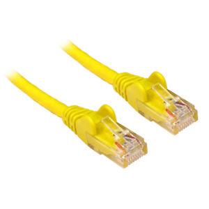Utile 50 X 25 Cm 0.25 M Cat5e Cat 5e Rj45 Réseau Ethernet Patch Câble Lan Plomb Jaune-afficher Le Titre D'origine Utilisation Durable