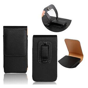 PU-Leather-Belt-Case-Holder-Etui-Cuir-Clip-Ceinture-Universel-Housse-pour-Acer