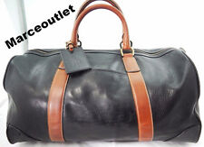 Polo Ralph Lauren Two-Toned Leather Duffel Bag $698.00
