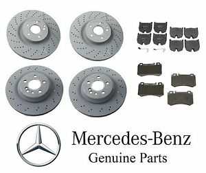 2003 2004 2005 2006 For Mercedes-Benz CL55 AMG Rear Ceramic Brake Pads