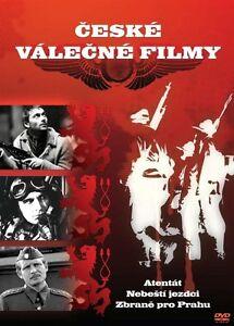 Details about Atentat / Riders In The Sky / Zbrane pro Prahu 3 Czech WW2  war movies box set