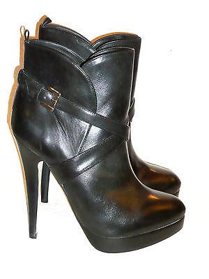 Buffalo High Heels Plateau Stiefelette Stiletto schwarz Größe 42 NEU!