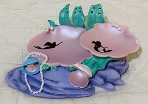 Disney-Store-The-Little-Mermaid-Ariel-Accessory-Tray-Figure-Sea-Shells-Pottery