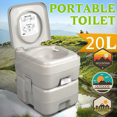 20L Portable Removable Toilet Travel Camping Outdoor Potty Commode RV camper