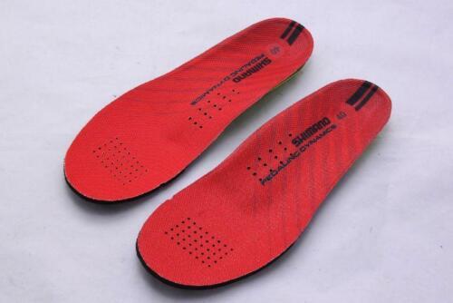 39-40*NEU* Shimano Erwachsene Dual Density Komfort Einlegesohlen rot