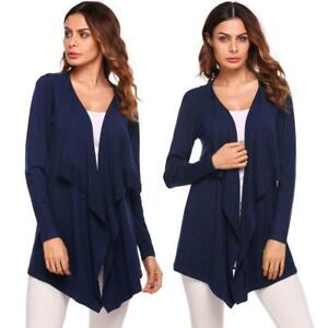 Women-Casual-Long-Sleeve-Asymmetrical-Solid-Open-Front-Cardigan-B98B-10