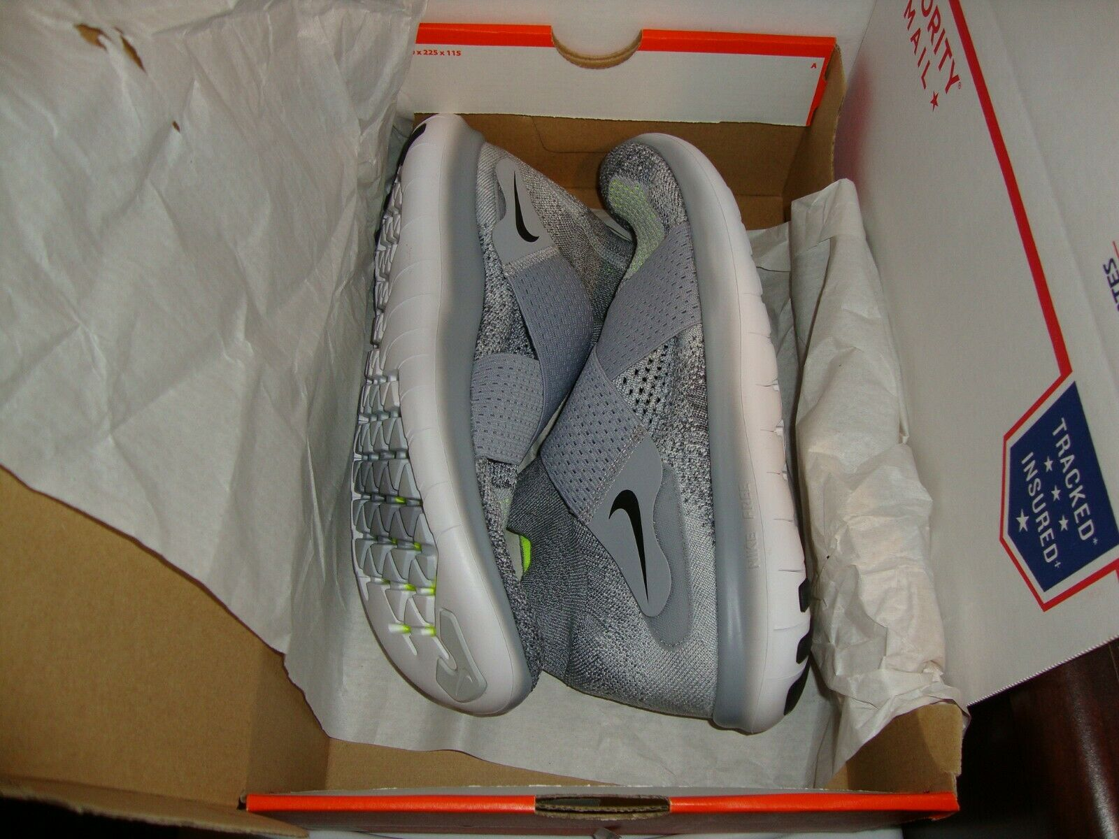 NIKE FREE RN MOTION FK WOLF GREY 2017 MEN SNEAKERS SIZE 10 Mens Running shoes