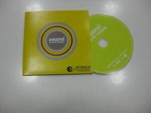 Amaral CD Single Europa Tage Von Verano 2005 Promo