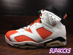1bb51700aa01c9 Air Jordan 6 Retro LIKE MIKE 384664-145 (White Orange Black ...