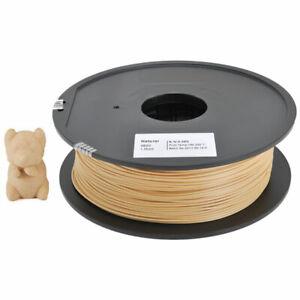 BOBINA FILAMENTO LEGNO CHIARO 1,75 mm - 500 grammi composto da legno riciclato
