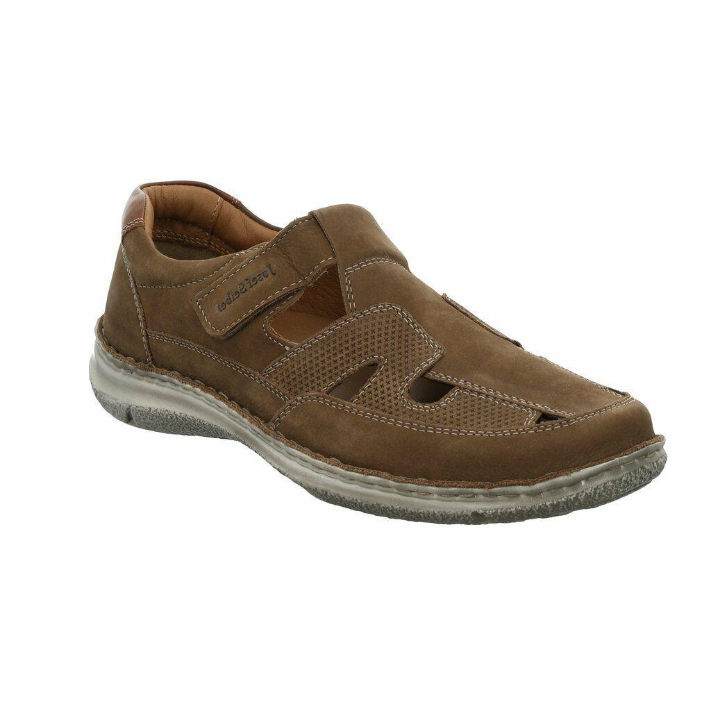 Hotter para hombre Medway Marrón Ancho Montaje Comodidad Zapatos Rrp £ 75
