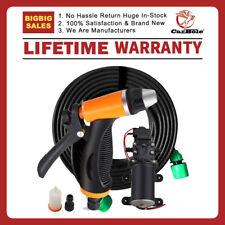 12v 80w High Pressure Self Priming Portable Electric Car Washer Kits Water Pump