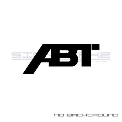 ABT Sticker EURO Racing mod A4 S4 S3 TT R8 VW GTI Turbo Jetta Pair