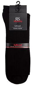 Men-039-s-Socks-XXL-47-50-amp-XXXL-52-54-Soft-Rim-Without-Elastic-Pressure