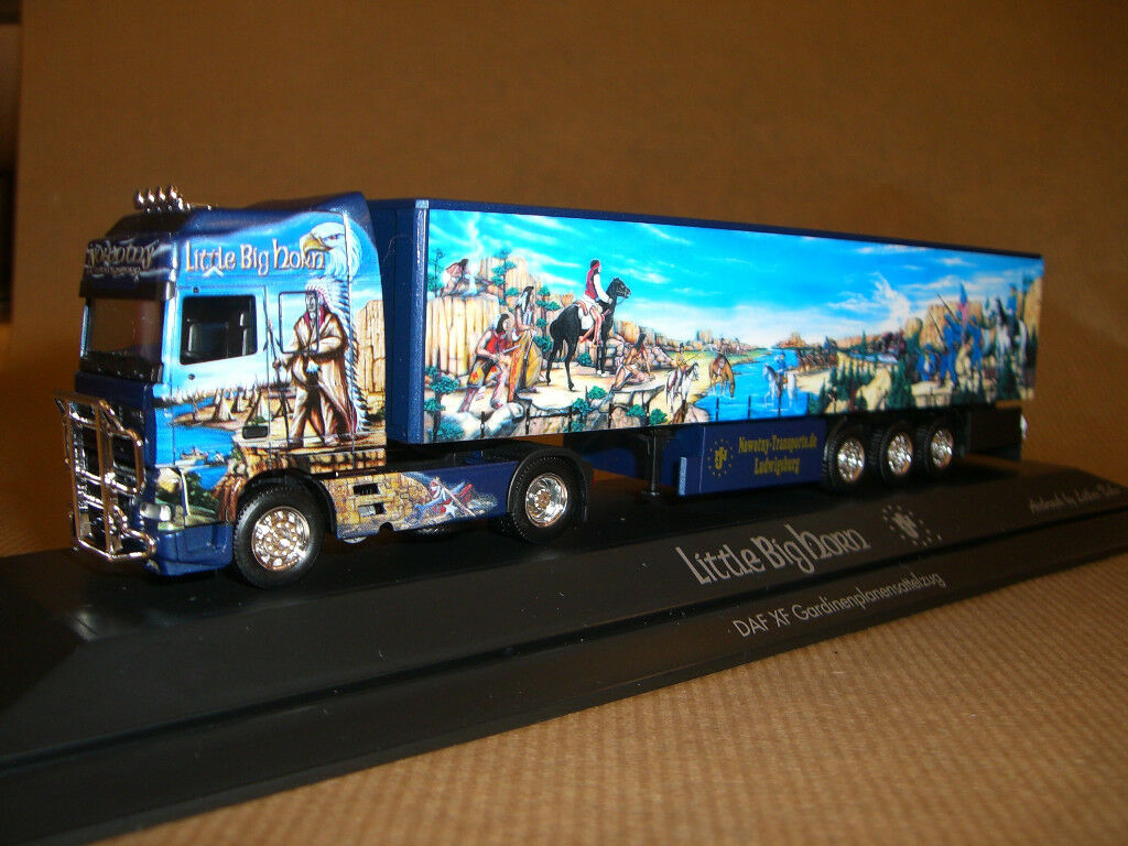 Herpa DAF XF 95 SSC nowotny Little Big Horn PC