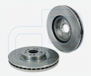 2-Bremsscheiben-MERCEDES-R-GL-X164-M-Klasse-W164-ML-vorne-Vorderachse-Durchmess