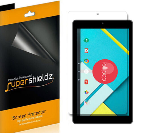 3X Supershieldz Clear Screen Protector Shield Saver for Nextbook Ares 8// 8A