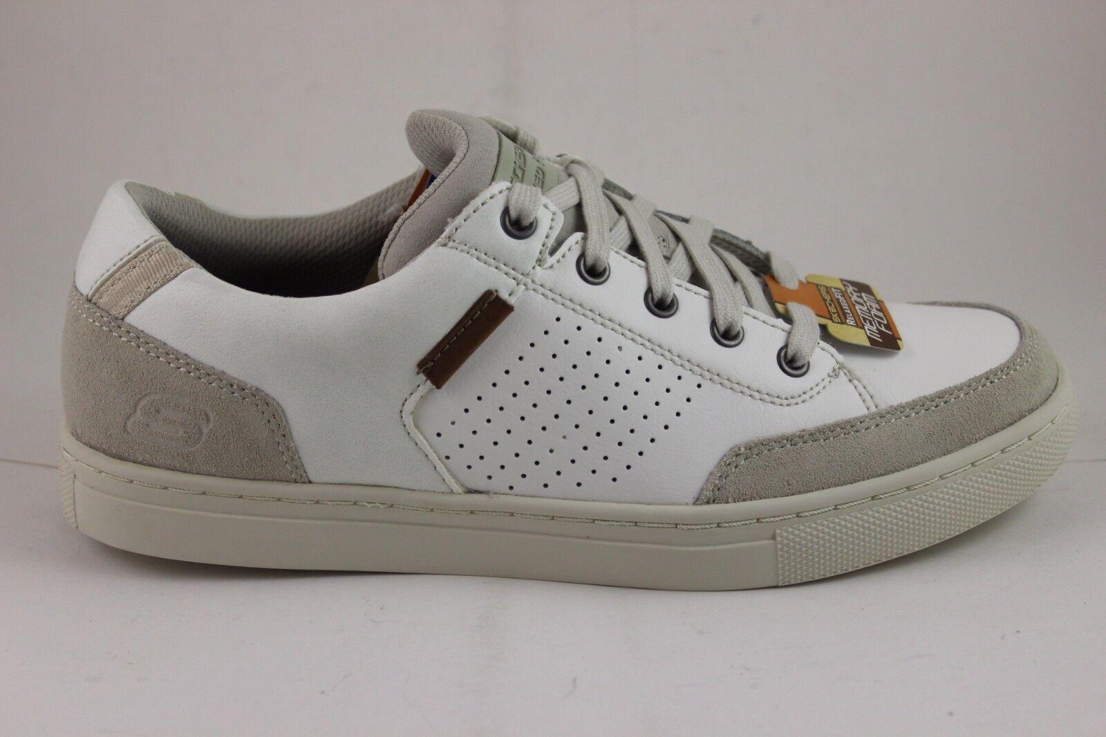 Skechers Hombre Elvino-Lemen 64796 blancooo blancooo blancooo rojoo Espuma Viscoelástica Nuevo en 733020